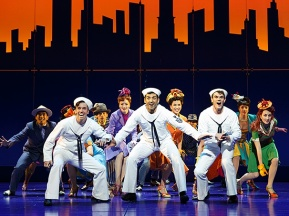 Production images for On the Town by Joan Marcus