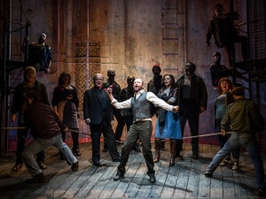 Sting as Jackie White and the company of The Last Ship (Photo by Matthew Murphy)