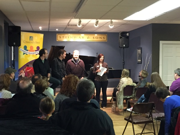A Q&A with the cast of Once at Heid Music.