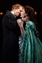 Jeremy Hays as Raoul & Sierra Boggess as Christine in The Phantom of the Opera. Photo by Matthew Murphy