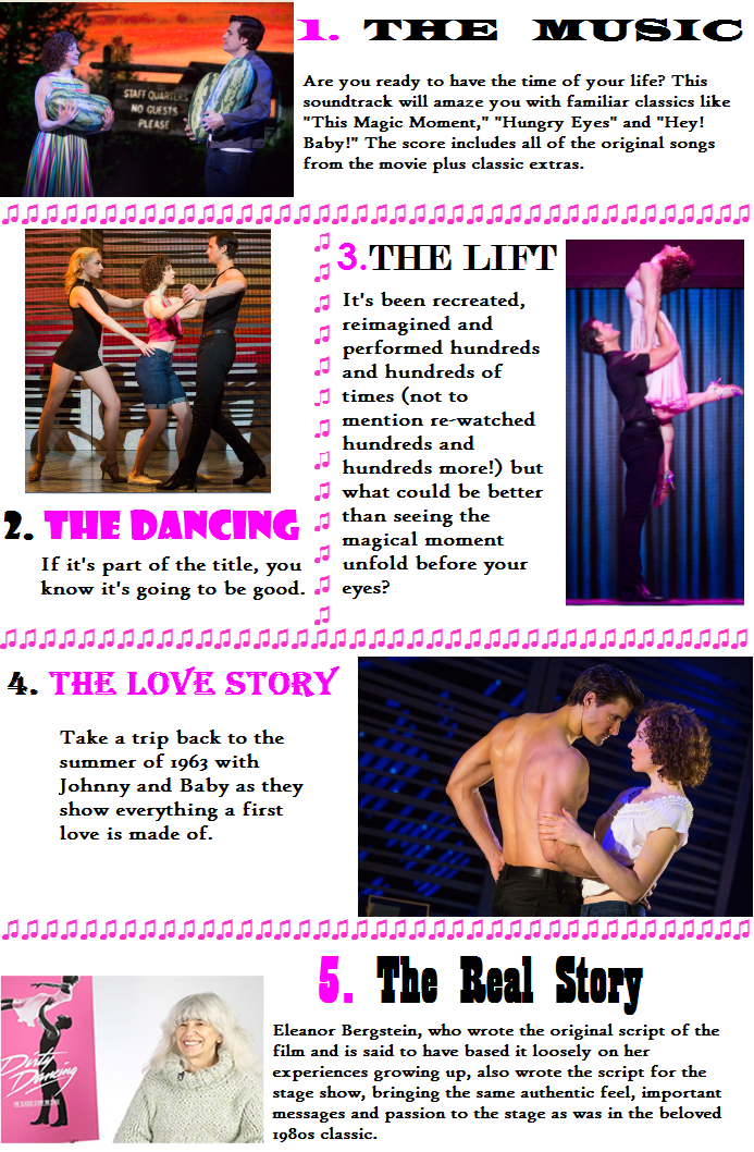 5reasons to see dirty dancing