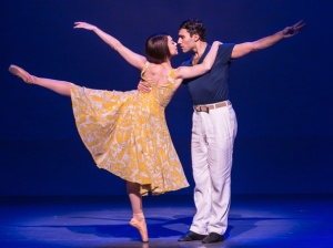 Leanne Cope & Dimitri Kleioris in 'An American in Paris' (Photo: Matthew Murphy)